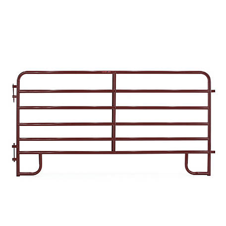 Tarter 10 ft. 2 in. 6Bar Extra Hd Corral Panel Red, 2RC10