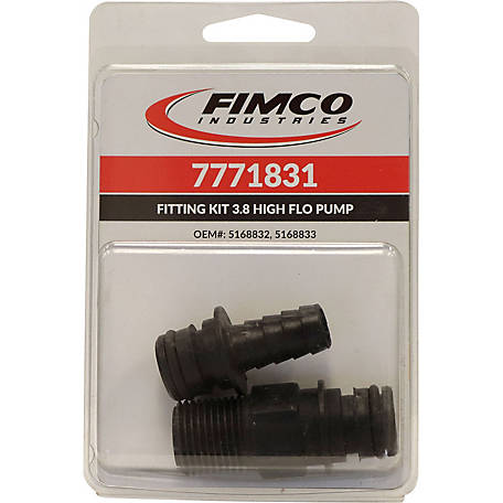 Fimco Port Fittings for 3.8 GPM Pump, 7771831