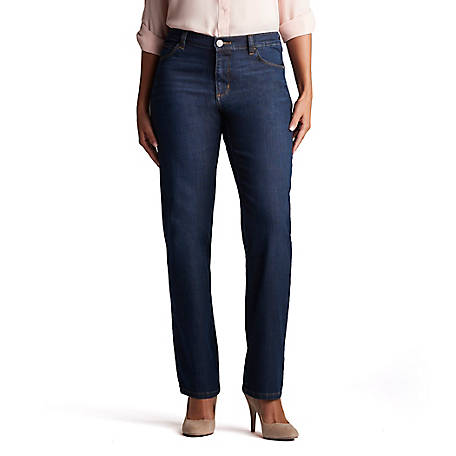 4e8bf631 Lee Women's Relaxed Fit Straight Leg Jean