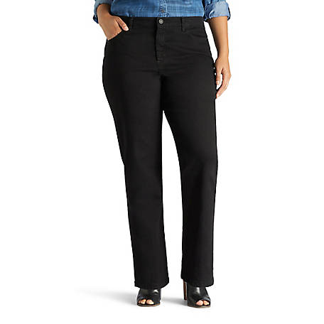 Lee Women's Instantly Slims Relaxed Fit Straight Leg Jean-Plus 30804