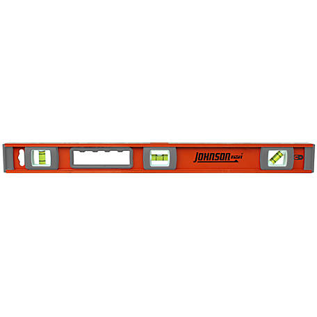 Johnson Level 24 in. Magnetic I-Beam Aluminum Level