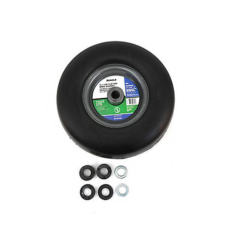 Arnold 11x4 in. Universal Flat Free Wheel Assembly