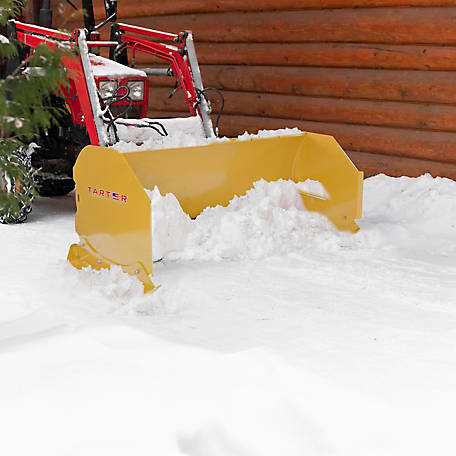 Tarter Farm and Ranch Equipment Quick-Attach Snow Pusher, 6 ft.