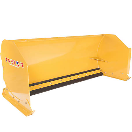 Tarter Farm and Ranch Equipment Quick-Attach Snow Pusher, 8 ft.