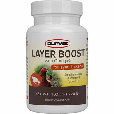 Buy Durvet Layer Boost with Omega-3; 100 gm Online