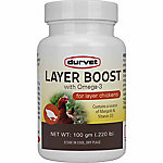 Durvet Layer Boost with Omega-3, 100 gm, 63362