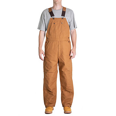 Blue Mountain Men's Duck Traditional Insulated Bib Overall