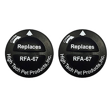 High Tech Pet Products Replacement Battery for Model RFA-67, 2-Pack