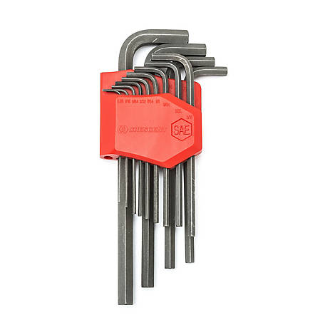 Crescent 13 Pc. Long Arm SAE Hex Key Set