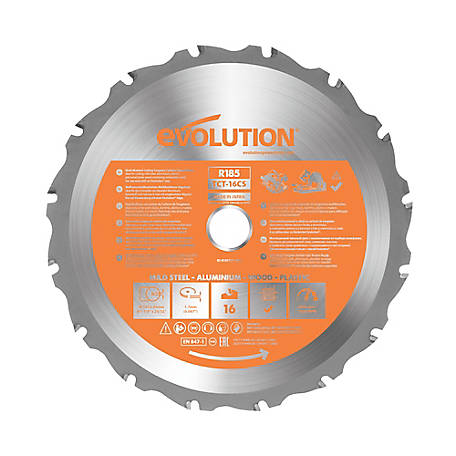 Evolution Rageblade Multipurpose Saw Blade, 7-1/4 in., 20 Tooth