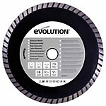 Evolution 185BLADEDM Concrete & Masonry Saw Blade, 7-1/4 in., 0 Tooth