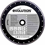 Evolution 14BLADEDM Concrete & Masonry Saw Blade, 14 in., 0 Tooth