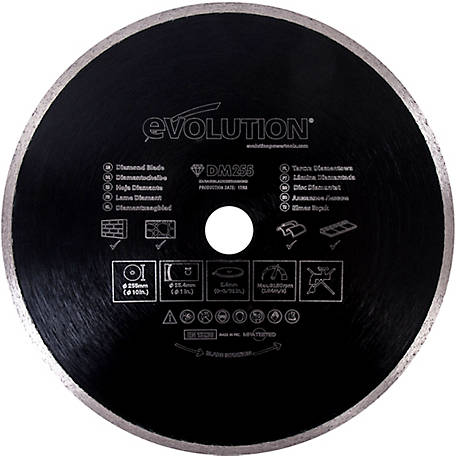 Evolution Concrete & Masonry Saw Blade 10 in., 0 Tooth, 1237468