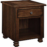 Ameriwood Home San Antonio Wood Veneer End Table