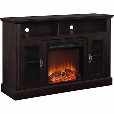 Ameriwood Home Chicago Electric Fireplace Tv Console For Tvs Up To