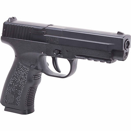 Crosman PSM45 4.5mm Spring-Powered Single-Shot Metal Slide Air Pistol