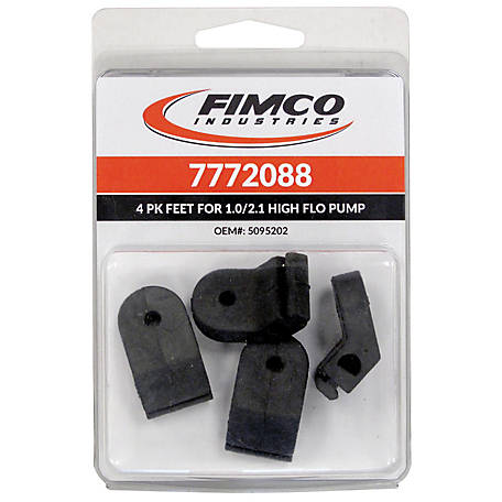 Fimco Rubber Feet for 1.0 GPM & 2.1 GPM Pump, Pack of 4, 7772088
