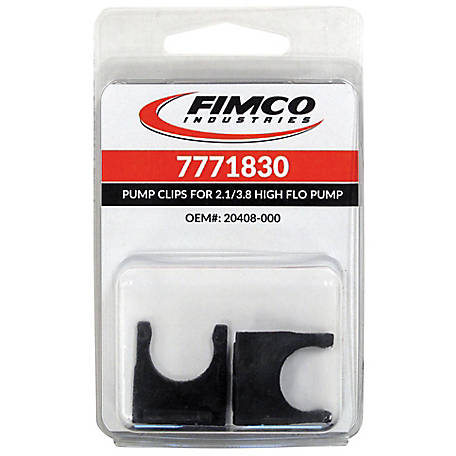 Fimco Slide Clips for 2.1 GPM & 3.8 GPM Pumps, Pack of 2, 7771830