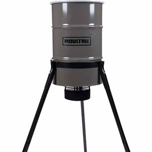 moultrie 30 gallon pro magnum tripod deer feeder at tractor supply co. Black Bedroom Furniture Sets. Home Design Ideas
