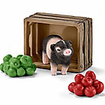 Schleich Mini Pig with Apples