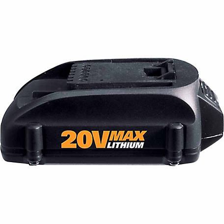 WORX 20V 2.0Ah Max Li-ion Battery