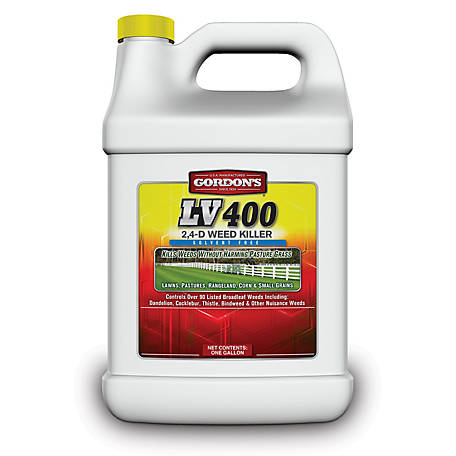 Gordon's LV 400 2,4-D Weed Killer Concentrate, Solvent Free, 1 gal., 8601072
