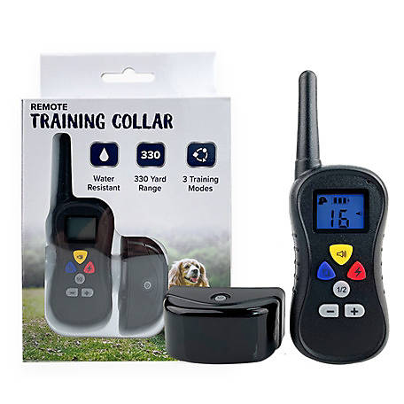 Pet Training Collar with Remote, 330 Yard Range