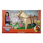 Paradise Horses 10 in. Doll, Cowgirl & Horse Set