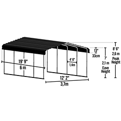 Shop Select Arrow & ShelterLogic Sheds at Tractor Supply Co.