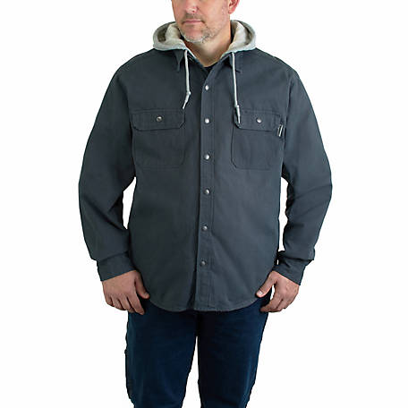 Wolverine Men's Overman Hooded Shirt Jacket