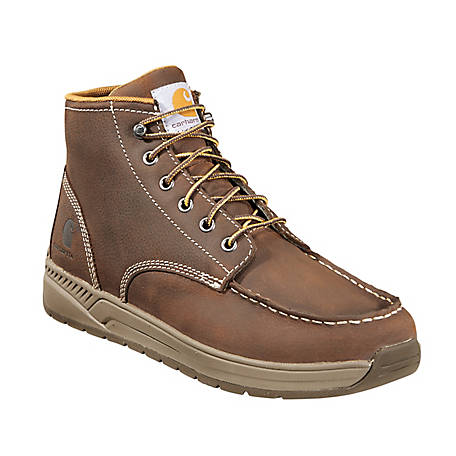 cd038f3821b Carhartt Footwear Men s 4 in Brown Lightweight Wedge Boot at ...