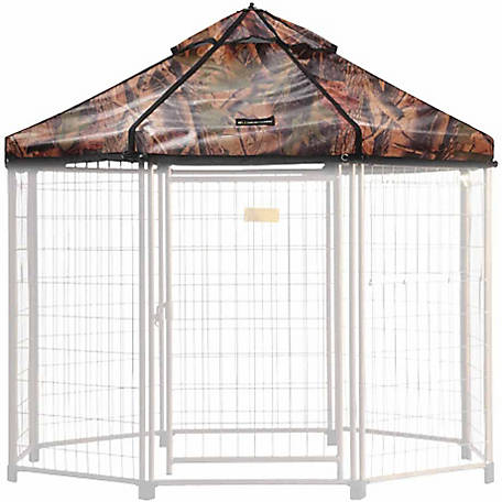 Advantek Select Pet Gazebo Cover, Medium, Dark Forest