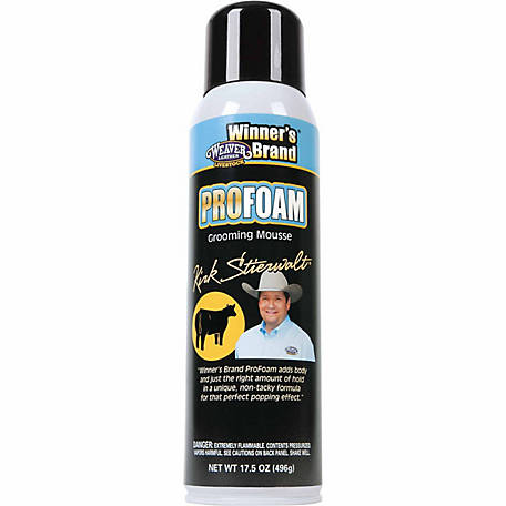 Weaver Leather Stierwalt ProFoam Grooming Mousse
