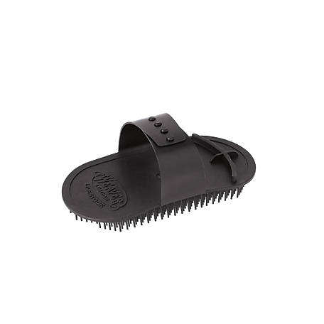 Weaver Leather Massage Brush, Black