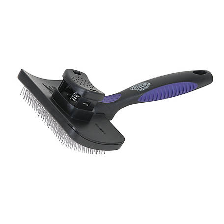 Weaver Leather Self-Cleaning Slicker Brush, 69-6011
