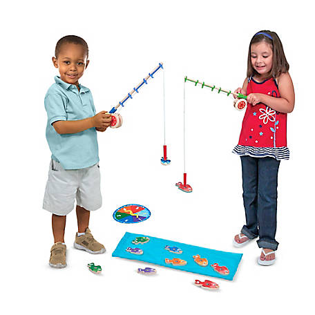 Melissa & Doug Catch & Count Fishing Game, 93455