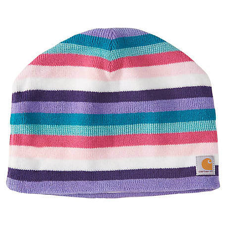 Carhartt Youth Fleece-Lined Striped Beanie