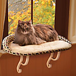K&H Pet Products Kitty Sill Deluxe with Bolster