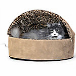 K&H Pet Products Thermo-Kitty Deluxe Hooded Bed