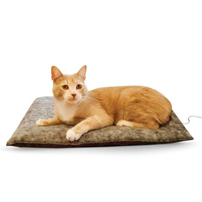 K&H Manufacturing Amazin' Thermo-Kitty Pad Gray