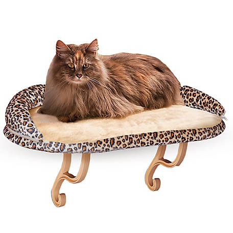 K&H Pet Products Deluxe Kitty Sill with Bolster
