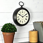 FirsTime Station Pocket Wall Clock