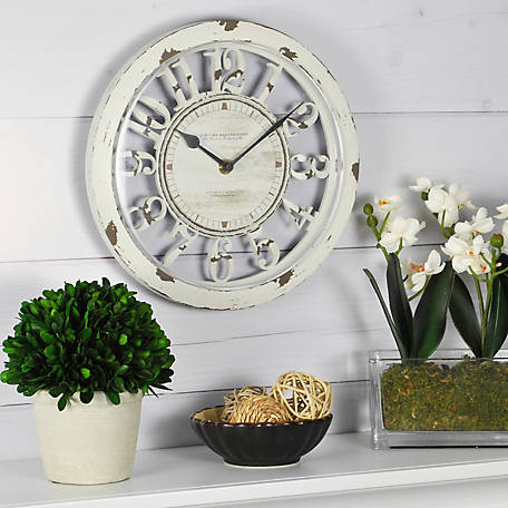 FirsTime Antique Contour Wall Clock