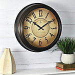FirsTime Taylor Road Wall Clock