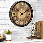 FirsTime Color Wheel Wall Clock