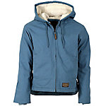 Women's Bluestone Sanded/Washed Duck Sherpa-Lined Hooded Coat