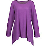 Bit & Bridle Women's Tunic with Crochet Detailed Long Sleeves