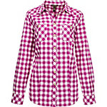Bit & Bridle Women's Long Sleeve Western Plaid Check Shirt