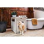 Habitat 'n Home Litter Loo, Antique White