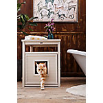 Habitat 'n Home Jumbo Litter Loo, Antique White